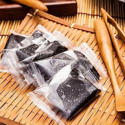【瘋神邦】台灣手工養生黑芝麻糕純素-5包入(300g/包)