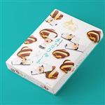 北海道香濃巧克力餅乾禮盒二入組