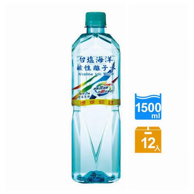 【台鹽】海洋鹼性離子水 1500mlx12瓶/箱