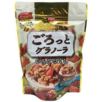 日清草莓麥片500g