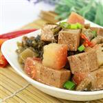 【高興宴】素人上菜-長壽鴻福梅干扣肉單人餐5份(蛋奶素)