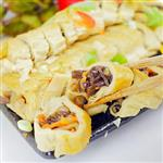 【高興宴】素人上菜-蔬食煙薰素鵝卷單人餐5份(蛋奶素)
