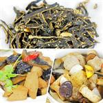 【高興宴】素人上菜-經典菜色單人套餐組(小魚干+猴頭菇+佛跳牆)