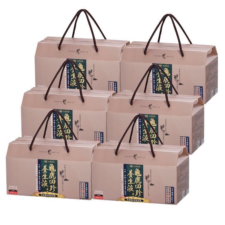【台塑生醫】龜鹿四珍養生液(50ml**14瓶/盒) 6盒/組