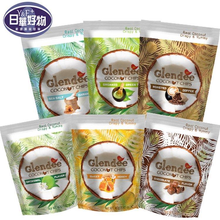 【Glendee】椰子脆片18包組