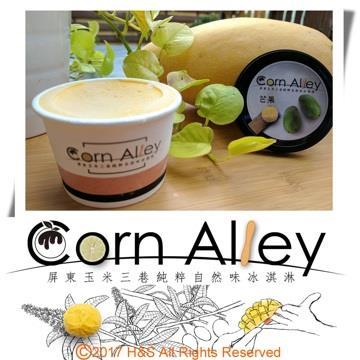 【Corn Alley屏東玉米三巷】愛文芒果冰淇淋(120ml)16入