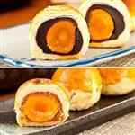 現+預 中秋月餅-樂活e棧-蛋黃 酥禮盒(5顆/盒,共2盒)-蛋奶素