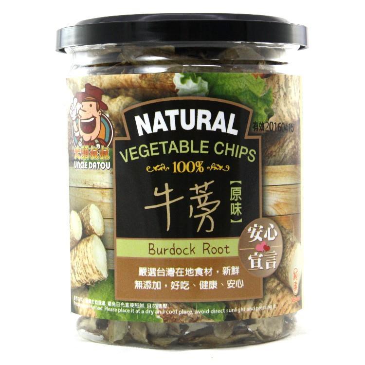 【大頭叔叔】牛蒡蔬菜脆片 賞味期至2019.10.02