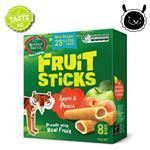【壽滿趣】紐西蘭 Mother Earth烘培水果棒x1盒(蘋果水蜜桃口味)~賞味期至2018.06.09