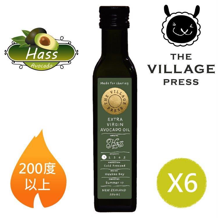 【壽滿趣- 紐西蘭廚神系列】頂級冷壓初榨黃金酪梨油(250ml 六瓶量販裝)贈風味橄欖油