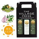 【壽滿趣- 紐西蘭廚神系列】頂級冷壓初榨黃金酪梨油x2/托斯卡尼風味橄欖油(250ml 三瓶禮盒裝)