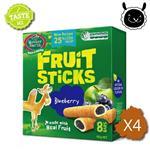 【壽滿趣】紐西蘭 Mother Earth烘培水果棒x4盒(藍莓口味)~賞味期至2018.05.25
