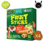【壽滿趣】紐西蘭 Mother Earth烘培水果棒x4盒(蘋果水蜜桃口味)~賞味期至2018.06.09