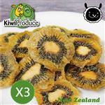 【壽滿趣- 紐西蘭原裝進口】Kiwi Produce 天然綠奇異果乾x3包
