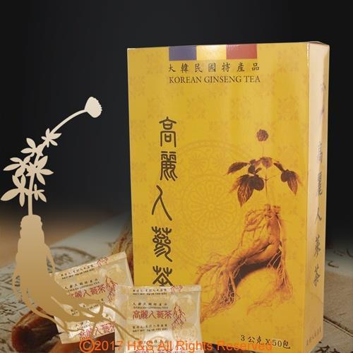 《瀚軒》精選韓國高麗人蔘茶 (3g**50包)