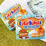 【BOURBON】北日本 漢堡夾心焦糖巧克力餅乾