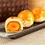 樂活e棧-冬瓜鳳梨蛋黃酥禮盒(5顆/盒,共1盒)-蛋奶素