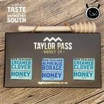 【壽滿趣-TaylorPass】混裝蜂蜜禮盒(琉璃苣x1三葉草x2)