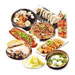 三低素食年菜 樂活e棧 圍爐團圓聚八財套組 (6菜1湯1甜點)