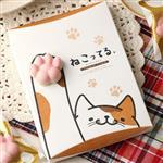 【日本】貓肉球巧克力餅乾禮盒-草莓白巧克力 三盒組