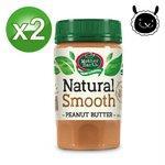 【壽滿趣】紐西蘭Mother Earth超級絲滑花生醬380g(兩瓶)
