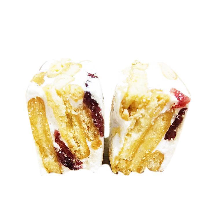 瘋神邦法式布蕾Q棉花糖餅x5包(蔓越莓果/100g包)