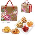 【瘋神邦】春意盎然水果乾禮盒(橘子+檸檬+芭樂+哈密瓜+番茄+楊桃)