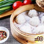 【瘋神邦】竹北傳統不沾醬手工肉圓(10顆/袋x10袋)