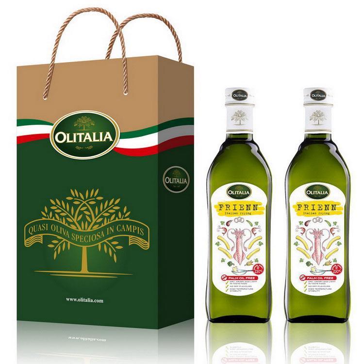 (Olitalia)奧利塔高溫專用葵花油禮盒組750mlx2瓶