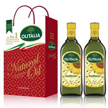 Olitalia奧利塔葵花油禮盒組(1000mlx2瓶)