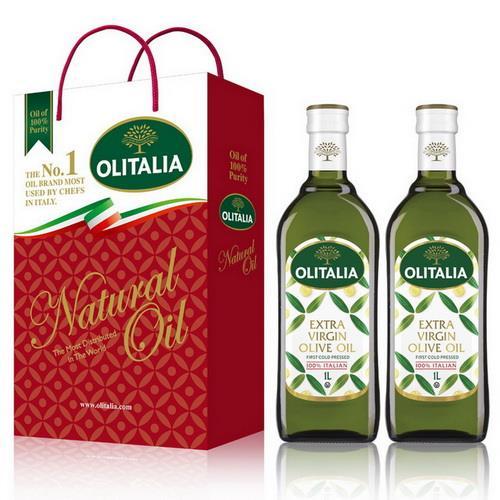 Olitalia奧利塔特級初榨橄欖油禮盒組(1000mlx2瓶)