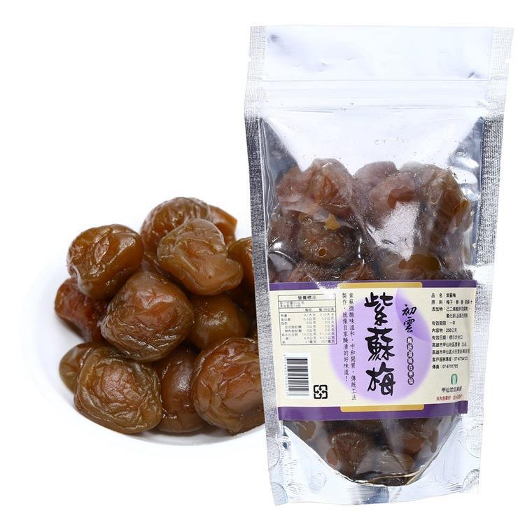 【甲仙農會】紫蘇梅(250g/袋裝)3入