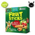 【壽滿趣】紐西蘭 Mother Earth烘培水果棒x1盒(蘋果草莓口味)~賞味期至2019.05.24