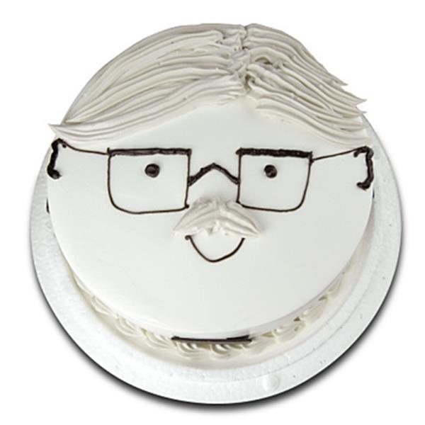【波呢歐】超帥氣爸爸雙餡鮮奶蛋糕(6吋)