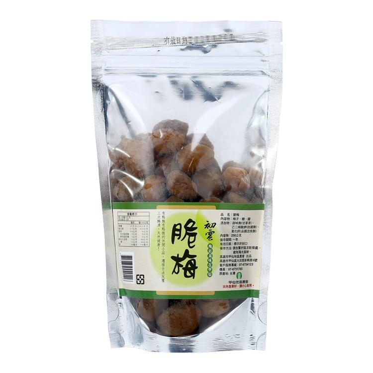 【甲仙農會】脆梅(250g/袋裝)3入