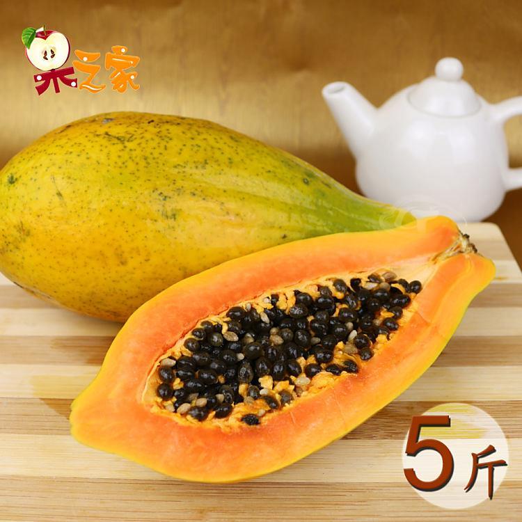 果之家 台灣特選甜蜜木瓜5台斤