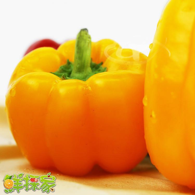 鮮採家 特選新鮮黃金肉厚六角蒂黃椒3台斤(1.8KG)