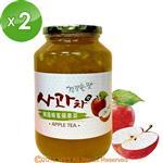 《韓廣》韓國蜂蜜蘋果茶(1kg)2入組