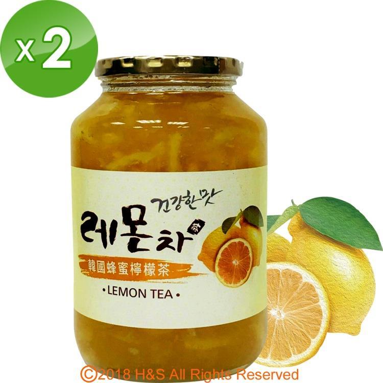 《韓廣》韓國蜂蜜檸檬茶(1kg)2入組