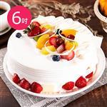 預購-樂活e棧-生日快樂造型蛋糕-盛夏果園蛋糕(6吋/顆,共1顆)