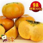 果之家產地特選高山摩天嶺甜柿禮盒10台斤(9A,單顆8-9兩)