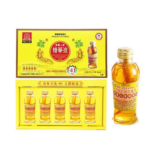 金蔘-韓國高麗人蔘精華液禮盒(120ml**5瓶)共1盒