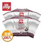 【illy】意利深焙咖啡掛耳(200入/袋)
