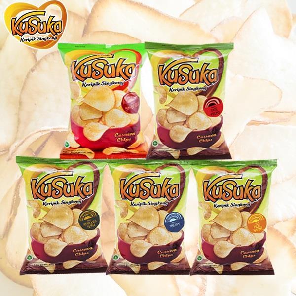 【印尼】KUSUKA樹薯脆片系列/4包入