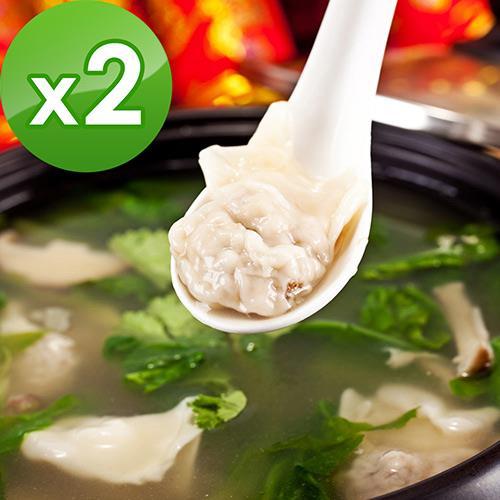 三低素食年菜 樂活e棧 展翅高飛-裙襬餛飩2包(20顆/包)-蛋素