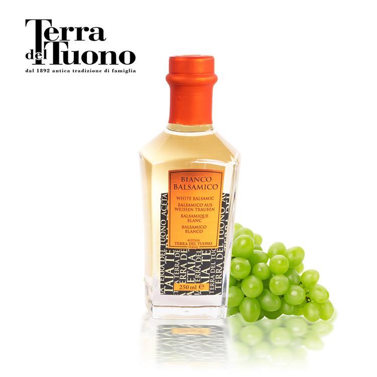 【義大利Terra Del Tuono】巴薩米克醋Bianco(250ml/白色金標)