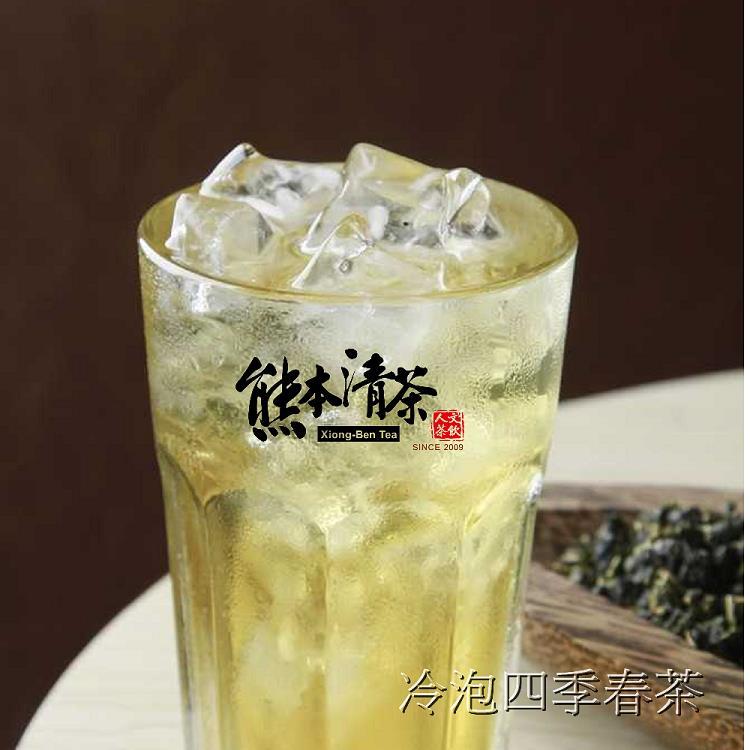 【熊本清茶】冷泡四季春茶(立體茶包50入)