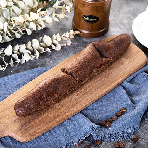 預購-樂活e棧-微澱粉麵包系列-軟式法國巧克力長麵包(118g/條,共1條)