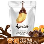 CHOCOVIA杏桃巧克力120g*6包
