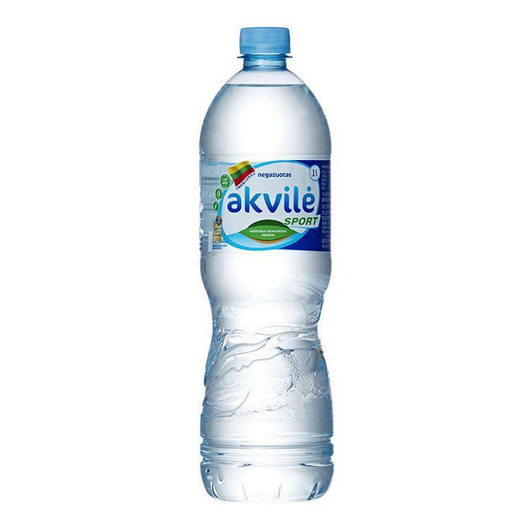 【立陶宛akvile】愛可麗天然鹼性礦泉水1000ml(12瓶/箱)